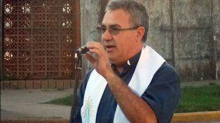 Arrestado a medias. El sacerdote Néstor Monzón fue detenido el pasado 19 de abril.