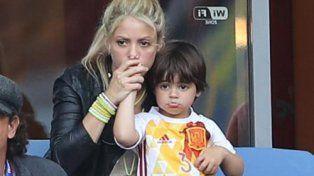 Las 10 caras de Shakira ante la derrota de España en la Eurocopa