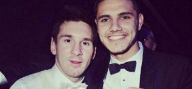 El mensaje de Mauro Icardi a Messi