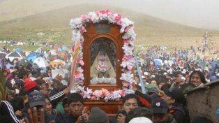 La Virgen de Tilcara.// WEB.