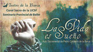 Este domingo se presenta la obra la Vida es Sueño en el Centro Cultural