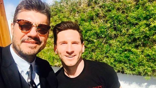 Tinelli habló con Messi y le dio una buena noticia a los argentinos
