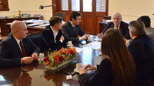 Concejales fueron recibidos por el gobernador Lifschitz por obras para Santa Fe