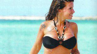 Florencia Peña calentó las redes sociales en topless: mirá las fotos
