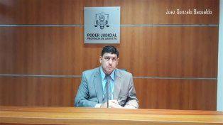 El nuevo juez. Gonzalo Basualdo fue designado por sorteo. Se estima que asumiría al frente de la causa el lunes
