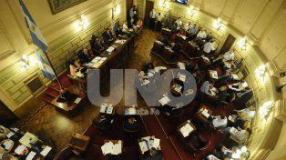 Negociación. La mayor discusión para aprobar la toma de deuda estuvo en la Cámara de Senadores.