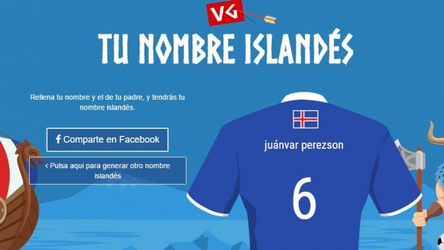 ¿Como se escribe tu nombre en islandés?