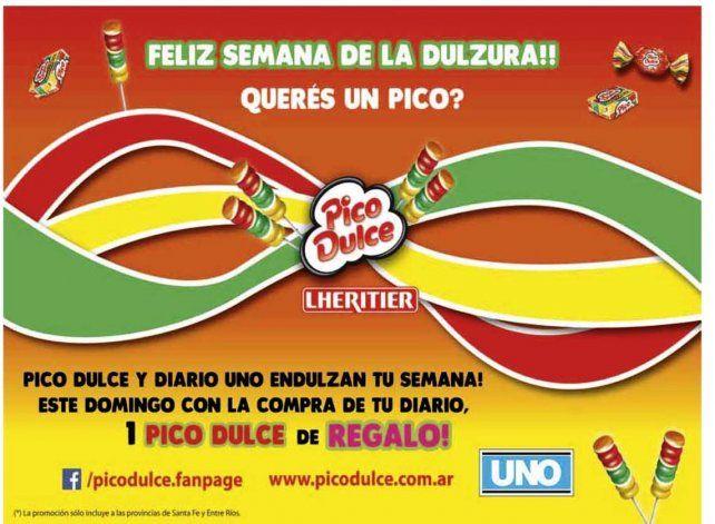 Este domingo con el UNO llevate un Pico Dulce