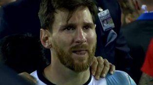Apostó por las lágrimas de Messi y se sacó la lotería