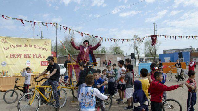 Se reprogramó la visita de La Orden de la Bicicleta a barrio San Lorenzo