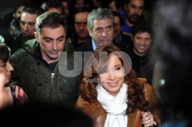 Buenos Aires:La ex presidente Cristina Fernández de Kirchner