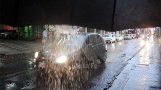 Emitieron un alerta meteorológico por intensas lluvias para Santa Fe