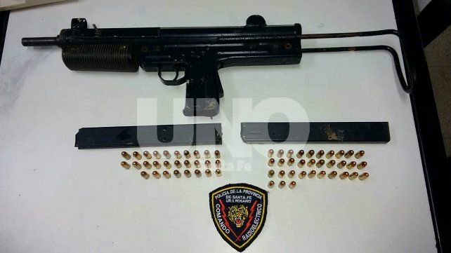Pistola ametralladora calibre 9 milímetros