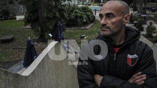 El entrenador uruguayo recibió a Ovación en el Hotel de Campo