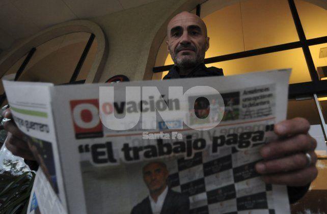 Paolo Montero charló mano a mano con Ovación luego de sus primeros días como entrenador sabalero.