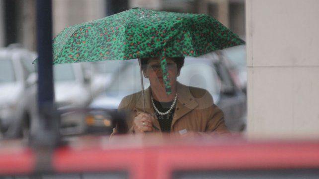 Se renovó la alerta por lluvias intensas que abarca a la ciudad