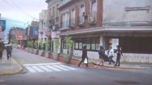 Proponen ampliar la circulación peatonal sobre calle Mendoza