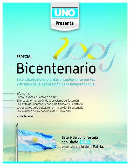 Este sábado no te pierdas la Edición Especial por el Bicentenario de la Independencia