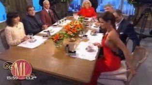 Maria del Mar hizo explotar las redes sociales con un particular detalle en la mesa de Mirtha Legrand