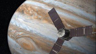 La sonda espacial Juno llegó a Júpiter