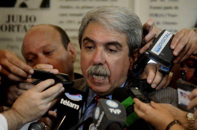 Aníbal Fernández renunció como presidente de la Confederación Argentina de Hockey