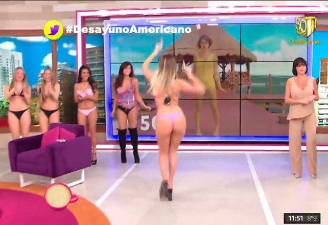 Las chicas de Gran Hermano desfilaron en bikini