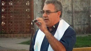 El sacerdote Néstor Monzón, acusado e imputado por abuso sexual en la ciudad de Reconquista, en el norte provincial.