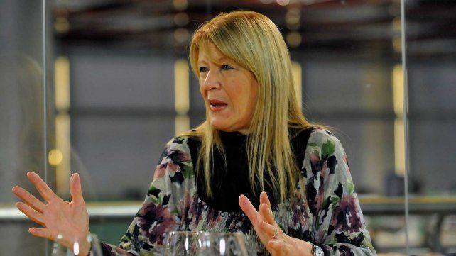 Margarita  Stolbizer. La diputada habló sobre la situación de Cristina en la causa  de lavado de dinero que tiene imputado a Lázaro Báez.