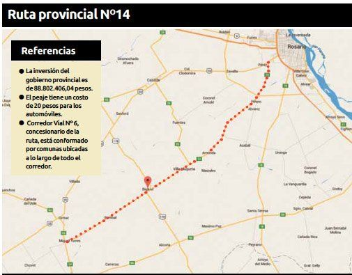Reclamo por el cobro de peaje en rutas arregladas por el Gobierno