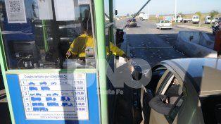 Ruta 6 y 70: el peaje subió un 13 por ciento y ahora cuesta 15 pesos