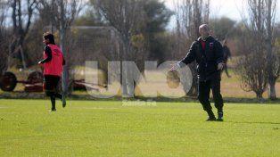 Montero se mostró muy conforme con el trabajo que vienen desarrollando los jugadores en la pretemporada.
