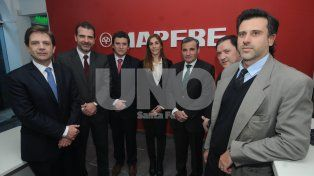 Fachada. La sede local de la firma relanzó las oficinas instaladas en Tucumán 2697