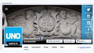 ¿Cómo podés seguir leyendo las noticias de UNO Santa Fe en Facebook?