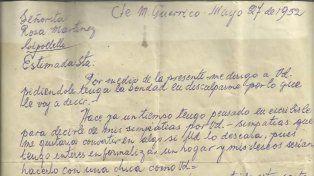 La carta de amor que se hizo viral medio siglo después