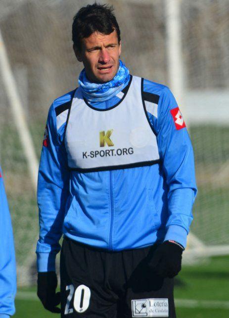 El futbolista es consciente que hoy no está en los planes del DT.