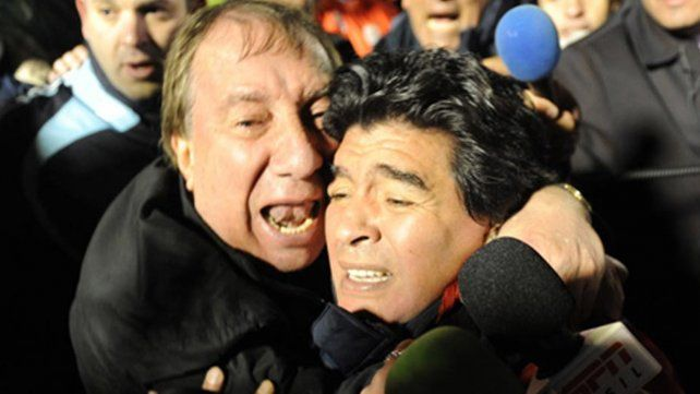 Maradona se reconcilió con Bilardo