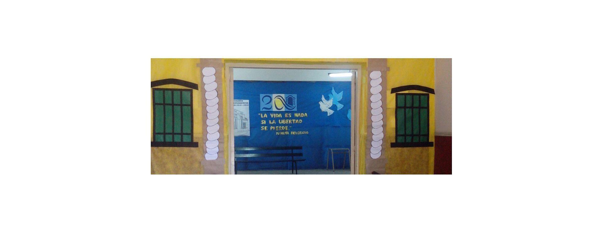 La escuela Beleno festejó los 200 años de la Independencia