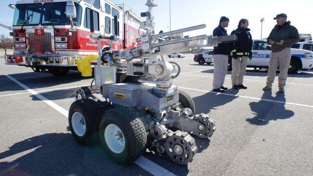 Cómo es el robot que se utilizó para matar al asesino de policías