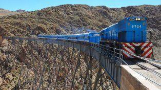 Y un día volvió a funcionar el Tren a las Nubes