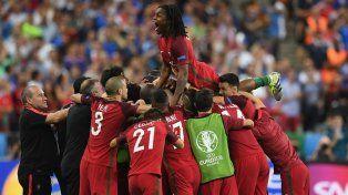 La Selección de Cristiano se quedó con la Eurocopa