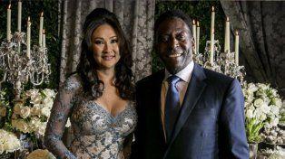 Pelé se casó por tercera y ¿última? vez
