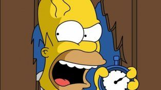 Homero destrozó a Maradona