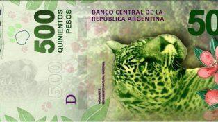 Aseguran que ya hay billetes de 500 pesos falsos