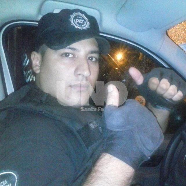 Diego Castaño. Tenía 28 años y pertenecía a la Policía de Acción Táctica. El asesino lo golpeó con su pistola 9 milímetros.