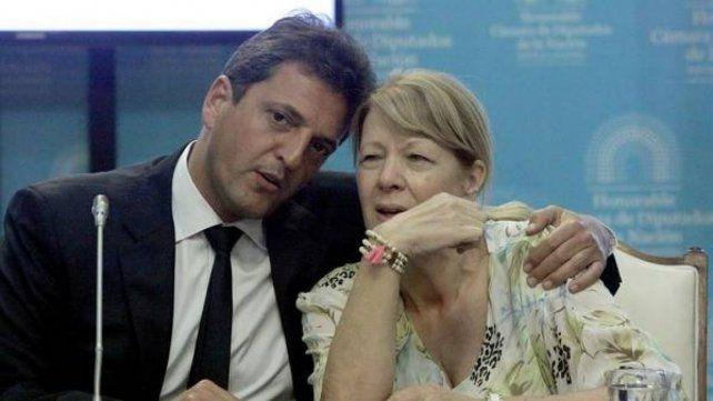 Frente asegurado. Massa y Stolbizer se preparan para ir juntos en las próximas elecciones.