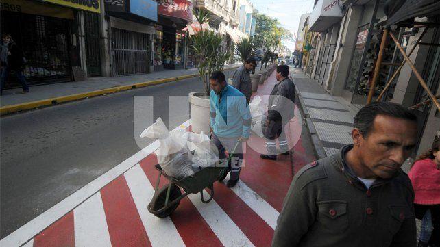 Concejales objetaron la intervención peatonal sobre calle Mendoza