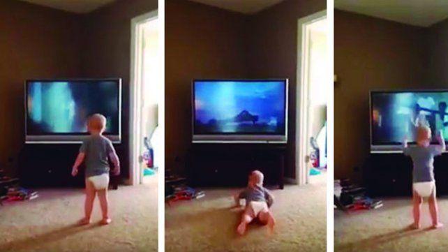 Entrena mirando a Rocky y su video es una sensación en las redes
