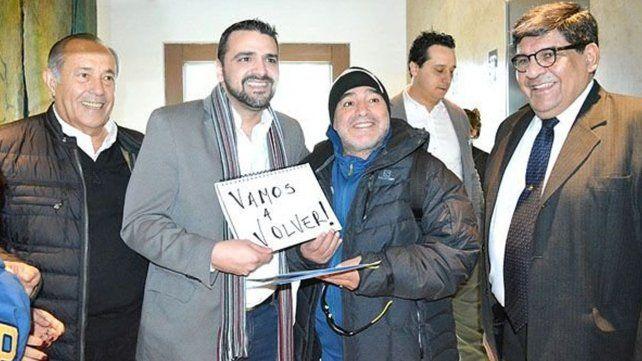 Vamos a volver con Cristina y vamos a volver a Malvinas, la polémica frase de Maradona