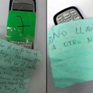 las misteriosas instrucciones de uso en el celular de jose lopez