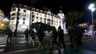 La policía rodeó el perímetro (Reuters)